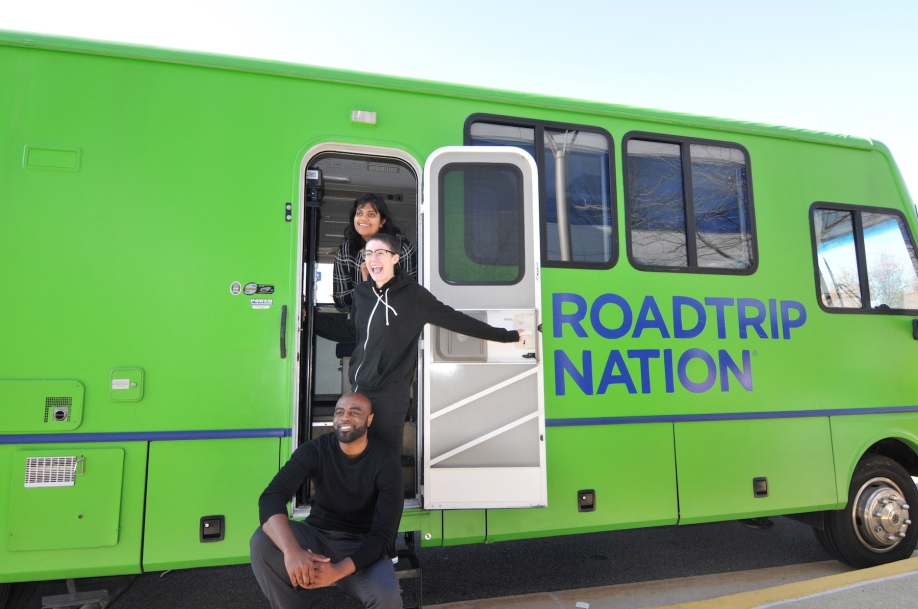UMUC's Antwan King and Roadtrip Nation