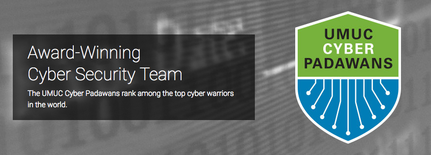 UMUC Cyber Padawans